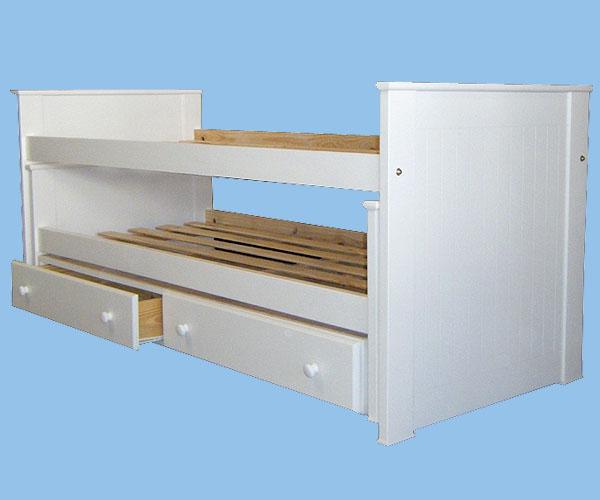 Fabripino f brica de cunas funcionales infantiles cunas for Cama nido dos camas
